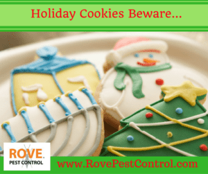 holiday season, pest control, winter pest control, fall pest control, christmas cookies, holiday cookies,